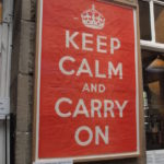 Keep calm… – a sztori