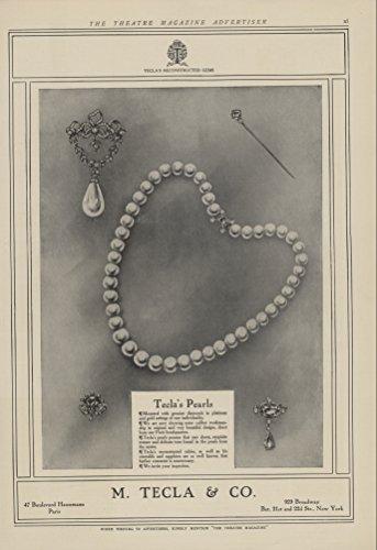 Ékszer-hirdetés a Theatre magazin 1907. évi egyik számából