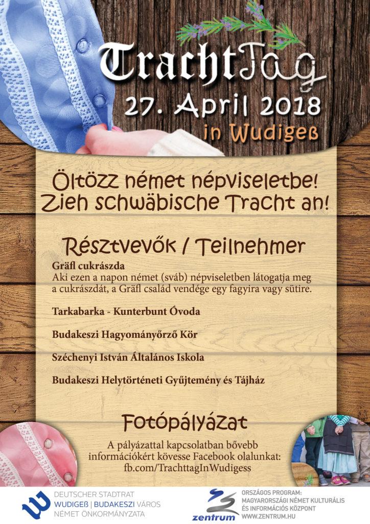 kapcsolódó esemény a népviselet napjához - Tracht Tag